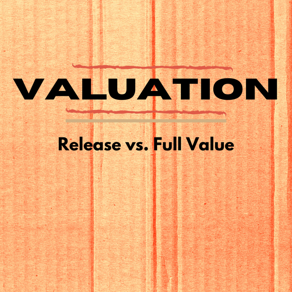 Release vs. Full Value
